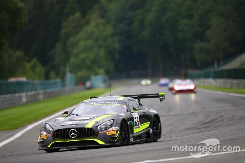 1. #85 HTP Motorsport, Mercedes-AMG GT3: Luciano Bacheta, Indy Dontje, Clemens Schmid