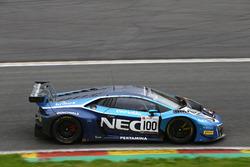 #100 Attempto Racing, Lamborghini Huracan GT3: Max Van Splunteren, Louis Machiels, Jeroen Mul