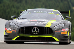 #85 HTP Motorsport, Mercedes AMG GT3: Luciano Bacheta, Indy Dontje, Clemens Schmid