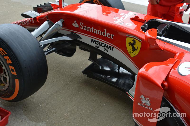 Ferrari, front side