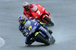 Olivier Jacque, Honda; Carlos Checa, Yamaha