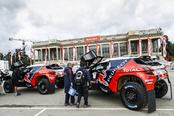 Peugeot Sport vor dem Start