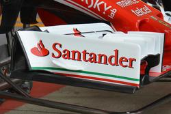 Ferrari, ala anteriore, vecchia versione