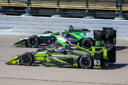 Conor Daly, Dale Coyne Racing Honda, Charlie Kimball, Chip Ganassi Racing Chevrolet