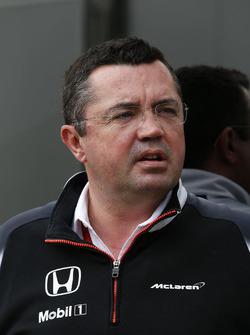 Eric Boullier, McLaren, Renndirektor