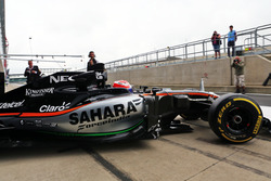 Nikita Mazepin, Sahara Force India F1 VJM09, Testfahrer