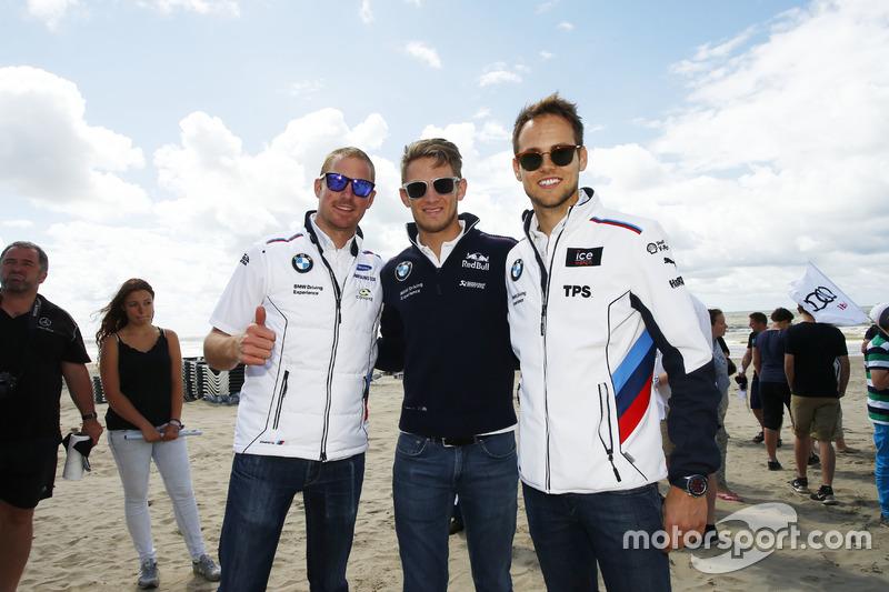 Maxime Martin, Tom Blomqvist en Marco Wittmann hebben er zichtbaar zin in!
