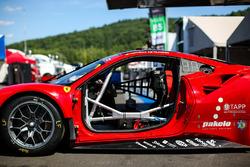 #62 Risi Competizione, Ferrari 488 GTE: Toni Vilander, Giancarlo Fisichella