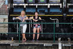 Regen vor dem Qualifying
