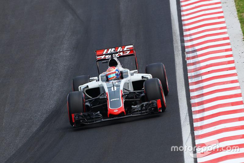 11: Romain Grosjean, Haas F1 Team VF-16