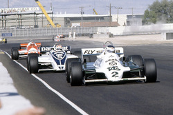 Карлос Рейтеман, Williams, и Нельсон Пике, Brabham