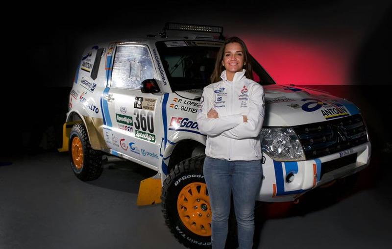 Cristina Gutiérrez disputará el Dakar 2017