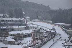 Spa Francorchamps nevado. Foto: ‏@wimporsche