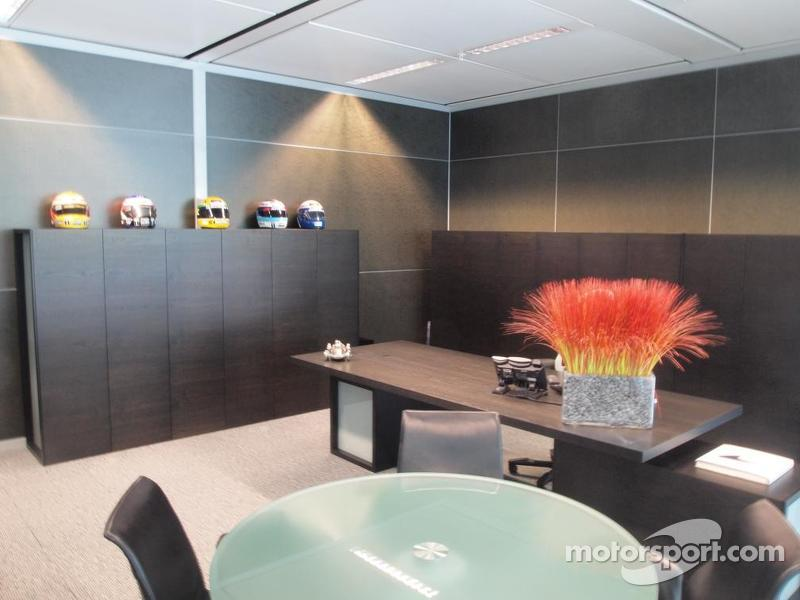 Martin Whitmarsh McLaren Office