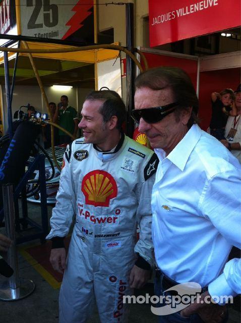 Jacques Villeneuve & Emerson Fittipaldi