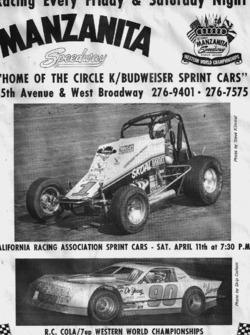 Bret M. Manzanita Speedway