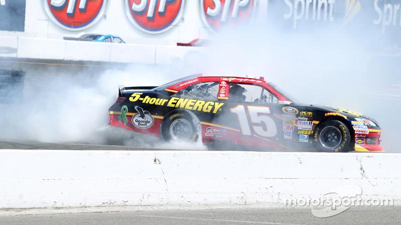 Clint Bowyer Burnout