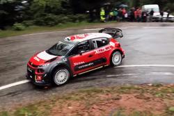 Sébastien Loeb com o Citroën C3 WRC