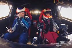 Rubens et Dudu Barrichello