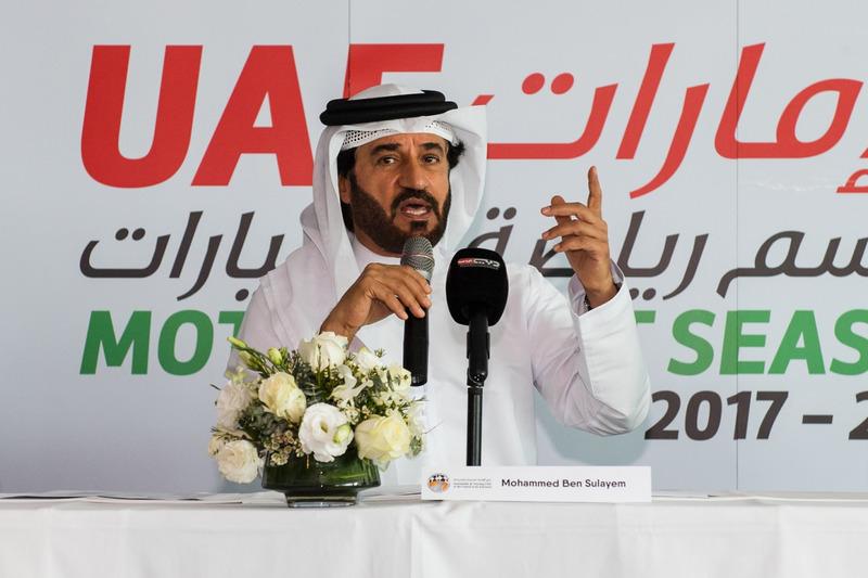1.محمد بن سليم خلال معرض الإمارات لرياضة المحركات – 15 سبتمبر 2017