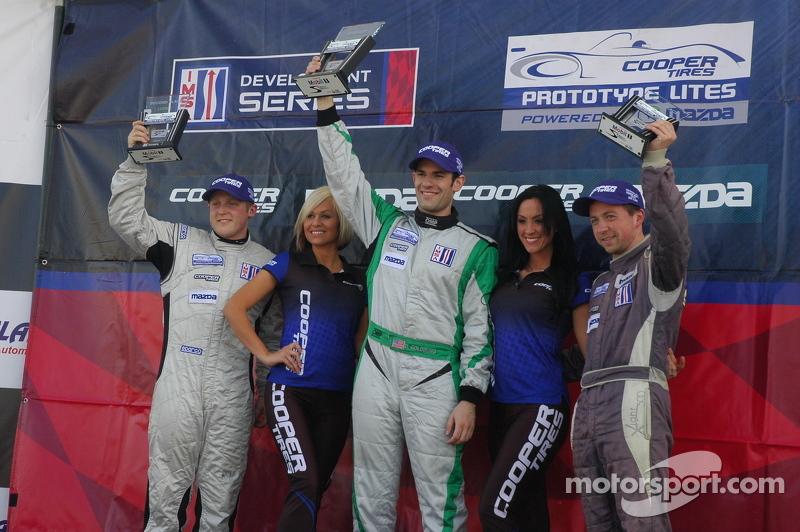 *IMSA Lights Race #1 Victory Lane Podium