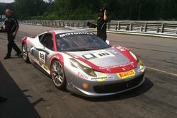 Jim Weiland's 458 Italia on pit lane