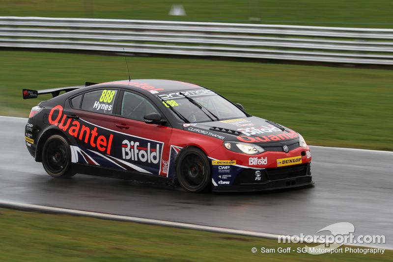 Marc Hynes - Triple Eight MG - BTCC - Oulton Park - Feb 14