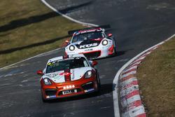 Карстен Крамер, Хайко Тенгес и Алексей Веременко, Porsche Cayman GT4 CS