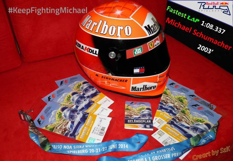 Tickets & MS Fastest lap time 2003'