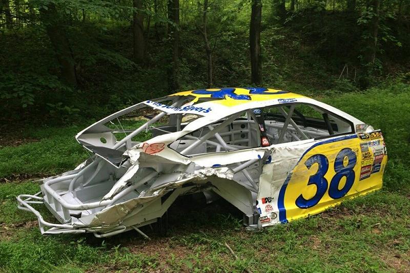 Dale Earnhardt Jr.'s car graveyard