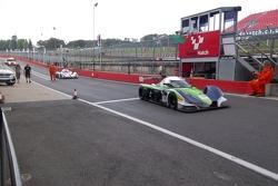 Praga in the pit lane