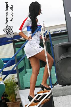 Moto 1000 GP championship, paddock beauty