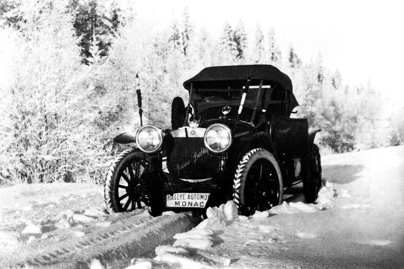 1912 год. Экипаж Нагель/Михайлов на пути в Монте-Карло