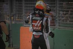 Choque Fernando Alonso Esteban Gutiérrez