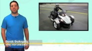 Cam-Am Spyder Hybrid, Abu Dhabi Painted Roads, Metal Tires, Smart Roadster Leaked