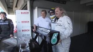 Nico Rosberg at the DTM