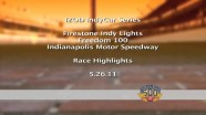 2011 Indianapolis 500 - IndyLights - Race Highlights and Practice