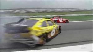 Ragan Slams Into Wall - Pocono Raceway 2011