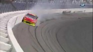 Gordon Hits Wall Hard - Las Vegas Motor Speedway 2011