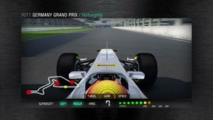 2011 Formula 1 German GP - 3D Simulation