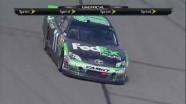 Denny Hamlin's Victory Burnout - Kansas - 04/22/2012