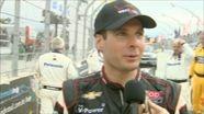 2012 - IndyCar - Brazil - Finishers Interviews
