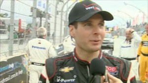 2012 - IndyCar - Brazil - Finishers Interviews