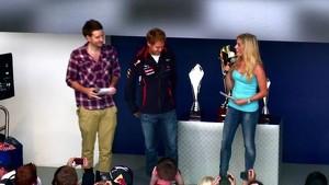 Red Bull Gridsters 2012 UK: Vettel vs Hakki JR Gaming
