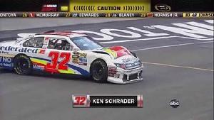 Ken Schrader Wrecks - Bristol - 08/25/2012