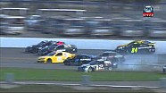 NASCAR Daytona Preseason Thunder - HUGE multi-car crash