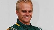 Heikki Kovalainen to drive FP1 in Bahrain for Caterham F1 Team