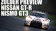 RACE PREVIEW - Nissan GT-R Nismo GT3 takes damage at ZOLDER - Nissan GT Academy Team RJN
