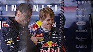 Infiniti Red Bull Racing 2013: The Simulator Challenge With Vettel and Rocky