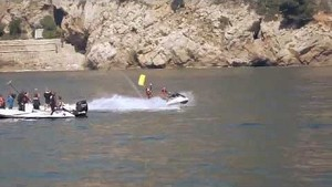 Nico and Lewis - Jet ski in Monaco with Sky